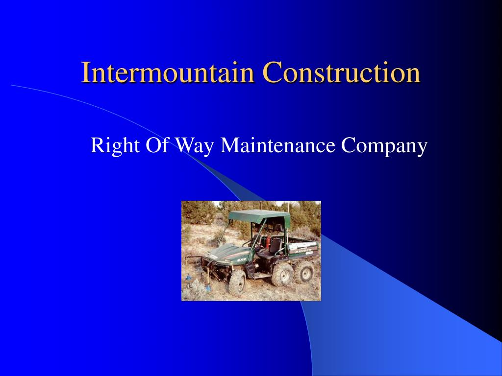 Intermountain Construction