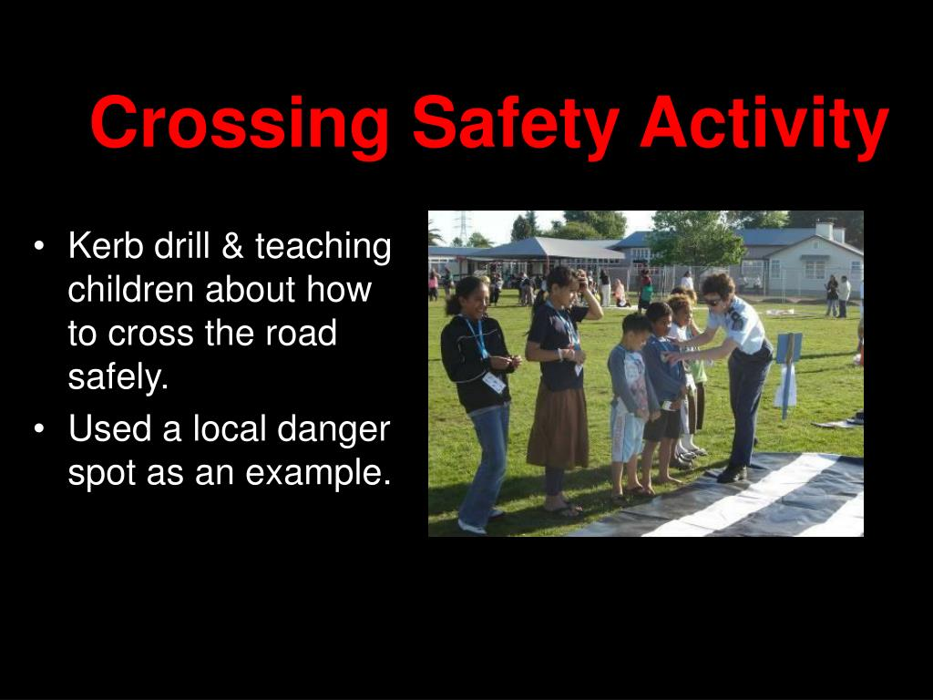 Crossing Safety Activity