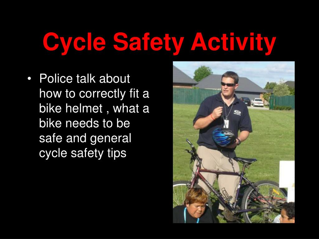 Cycle Safety Activity