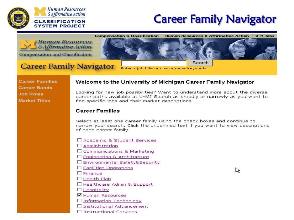 Career Family Navigator