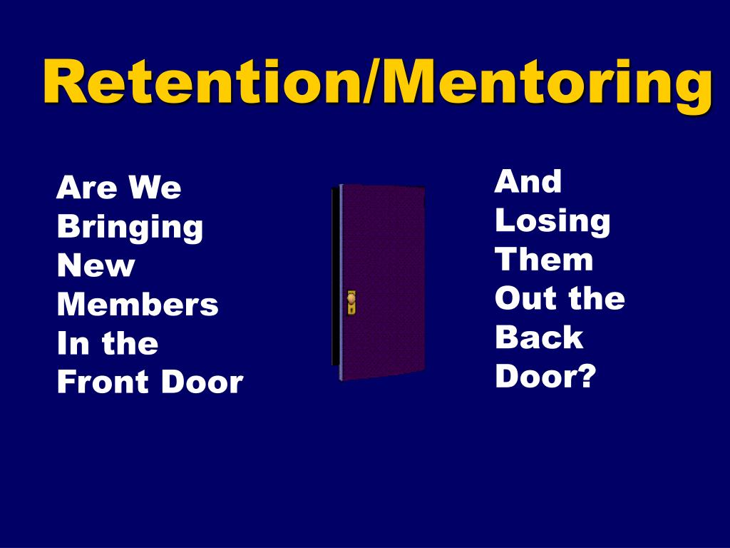 Retention/Mentoring