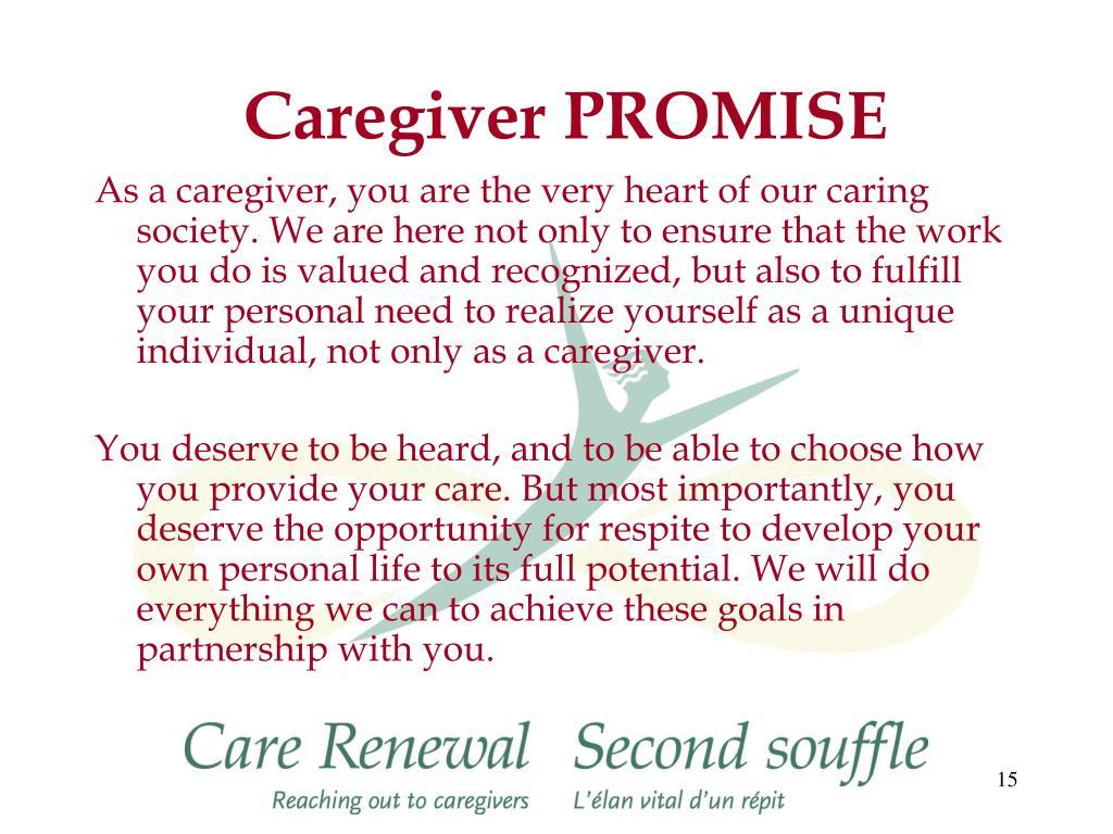 Caregiver PROMISE