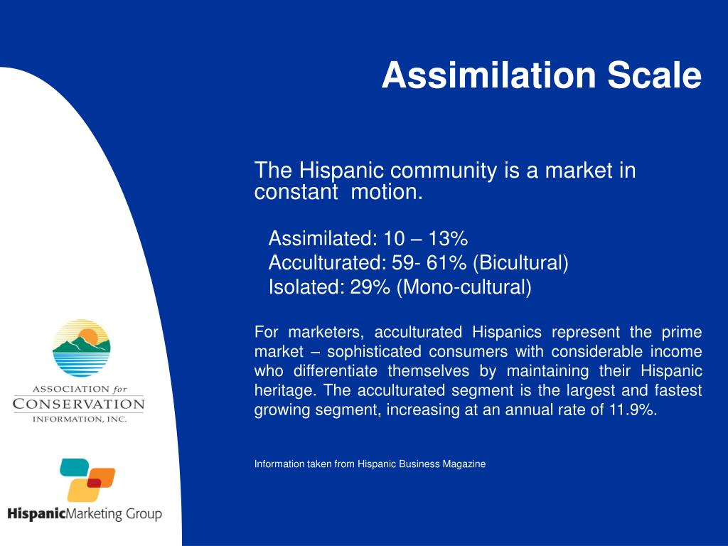 The Hispanic community is a market in constant  motion.