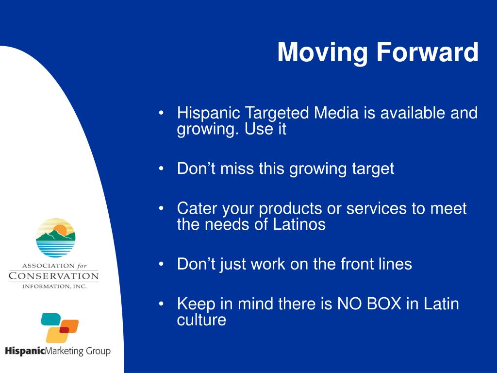 Hispanic Targeted Media is available and growing. Use it