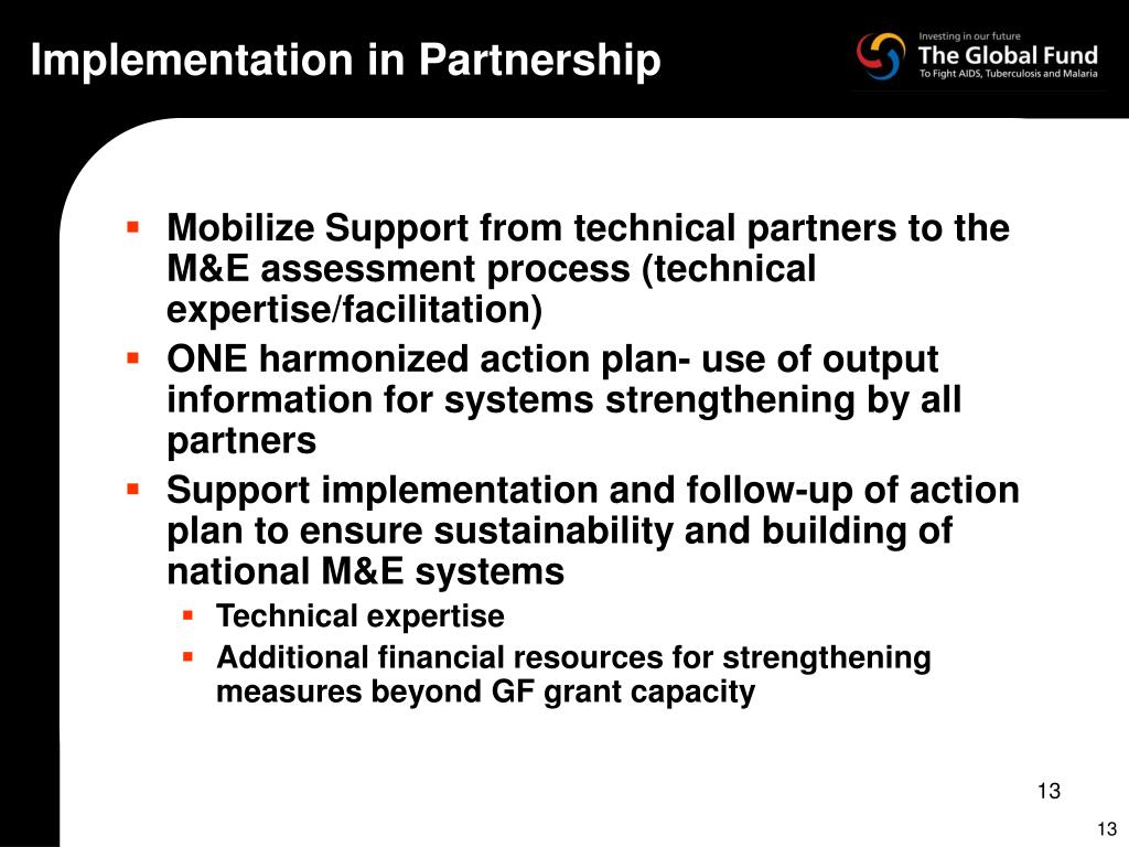 Implementation in Partnership