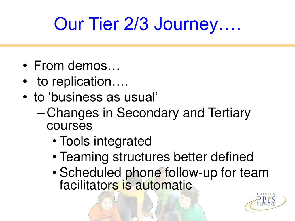Our Tier 2/3 Journey….