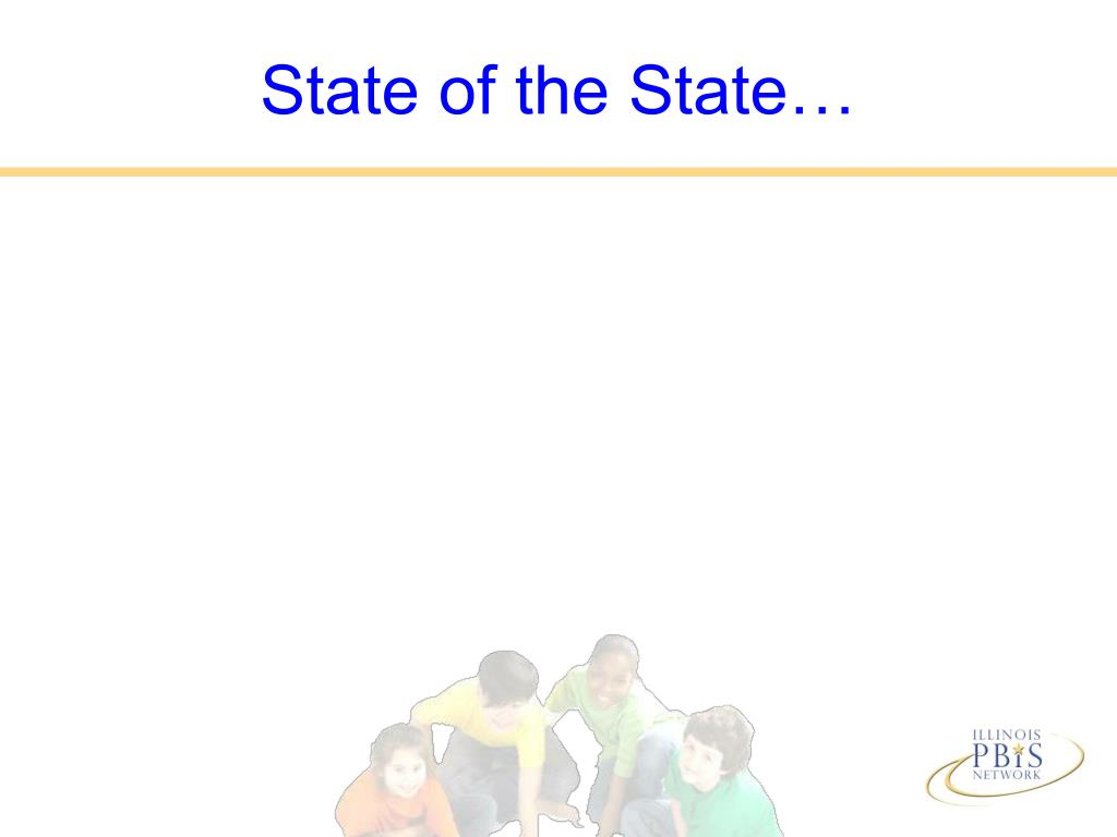 State of the State…