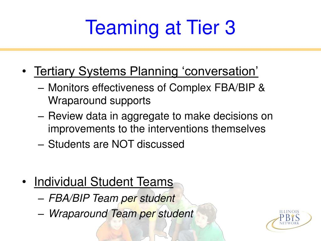 Teaming at Tier 3