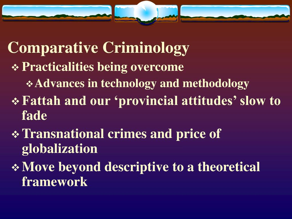 Comparative Criminology