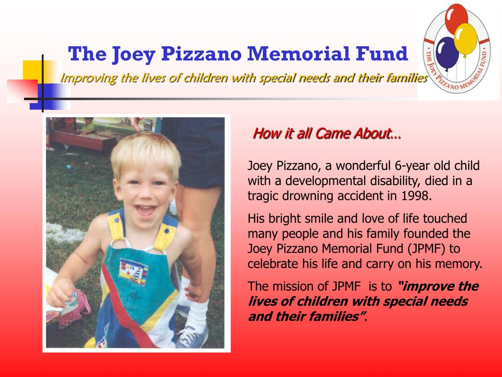 The Joey Pizzano Memorial Fund