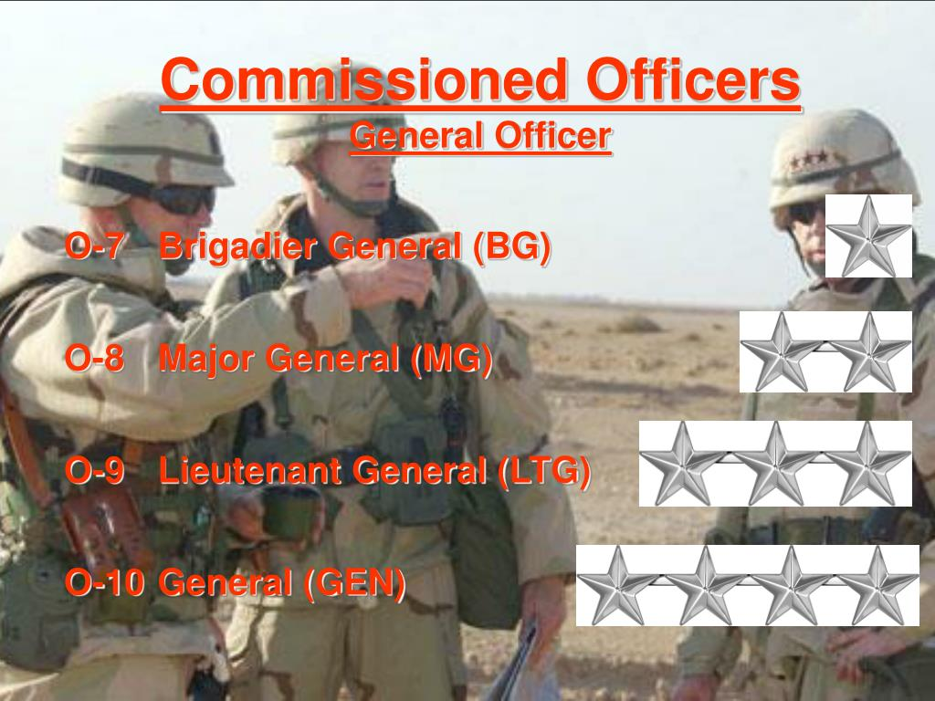 Commissioned Officers