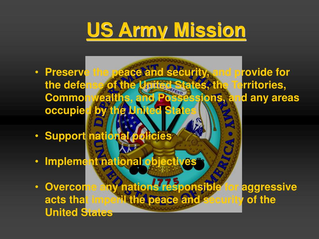 US Army Mission
