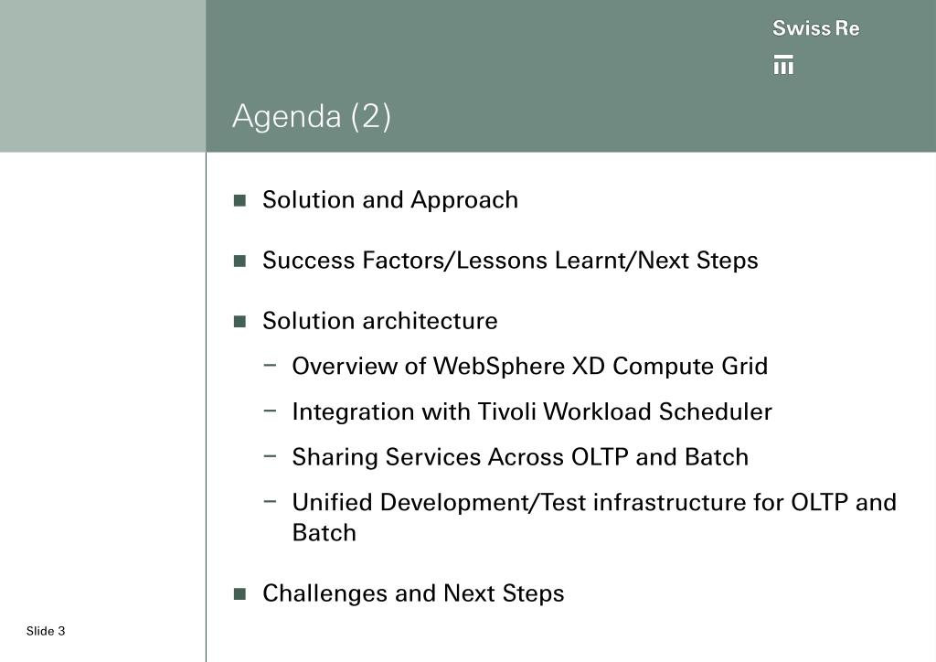 Agenda (2)