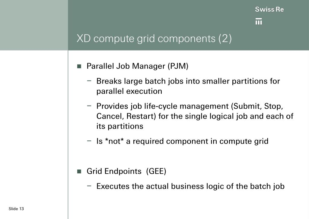XD compute grid components (2)