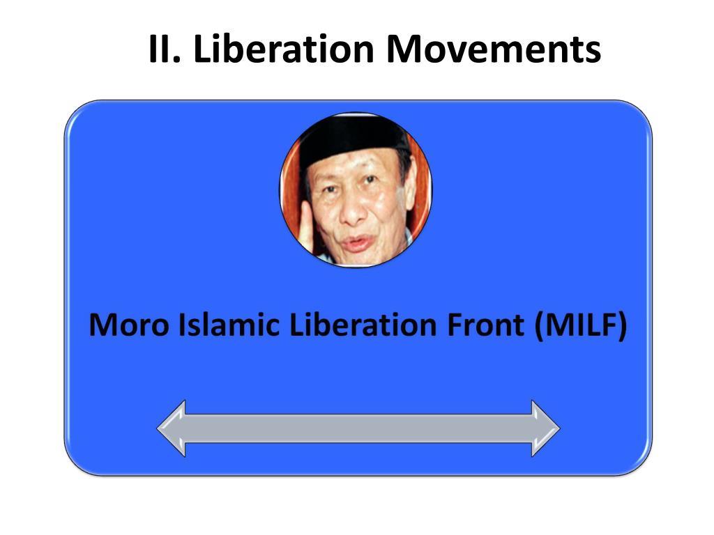 II. Liberation Movements