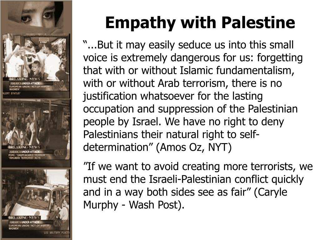 Empathy with Palestine