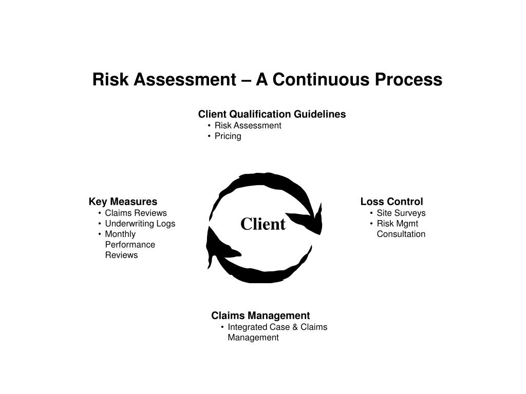 The Risk Assessment Process