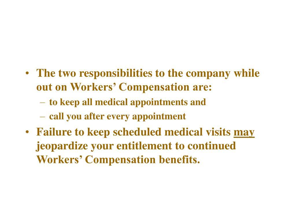 Advise the Injured Employee