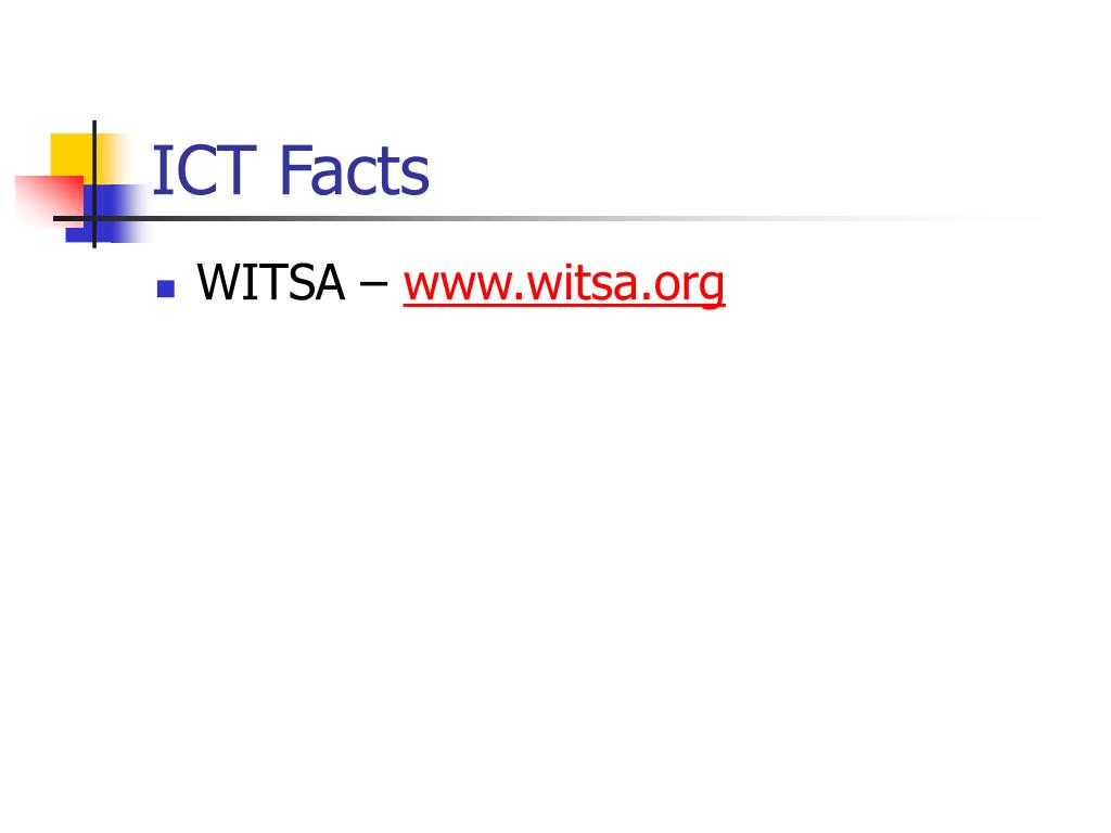 ICT Facts