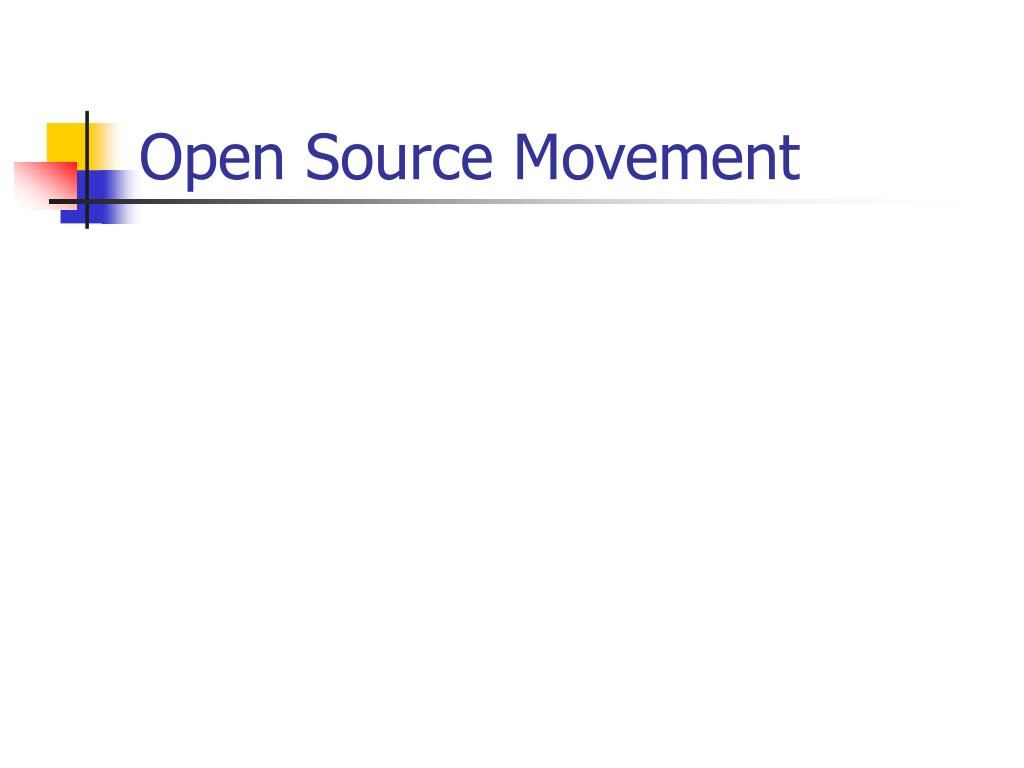 Open Source Movement