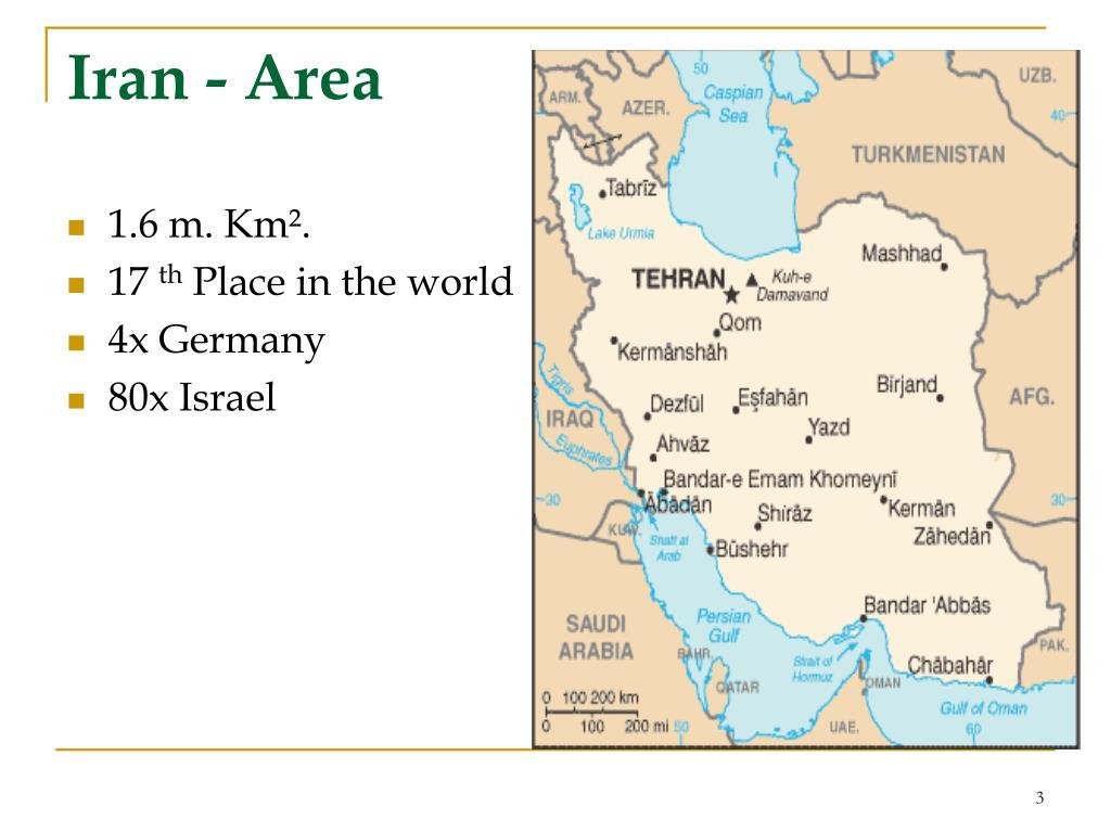 Iran - Area