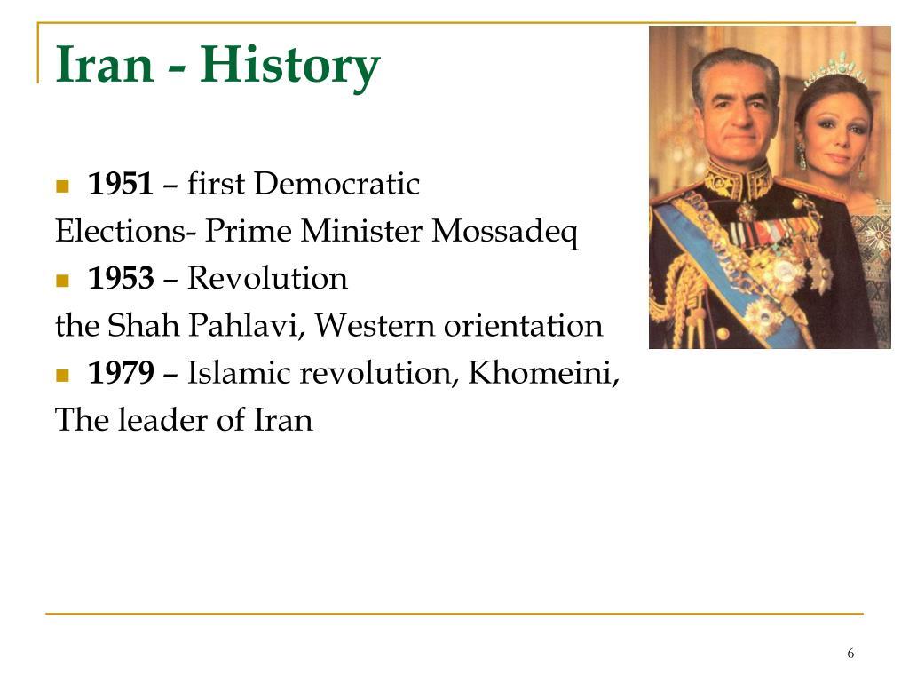 Iran - History