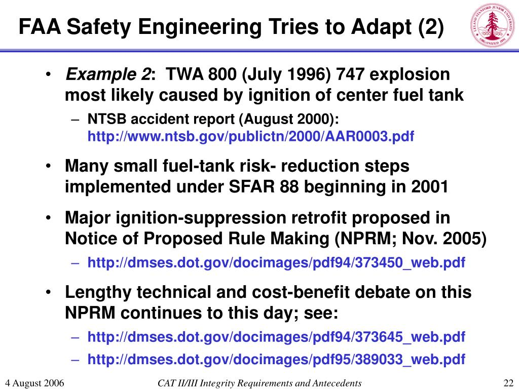 FAA Safety Engineering Tries to Adapt (2)
