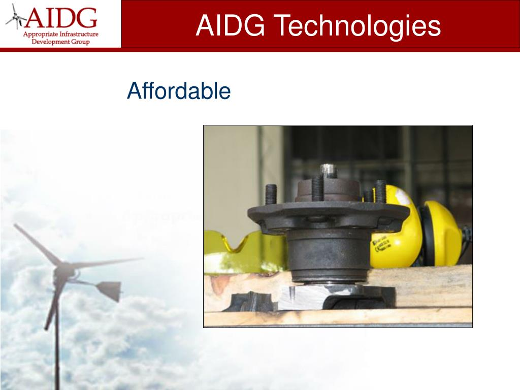 AIDG Technologies