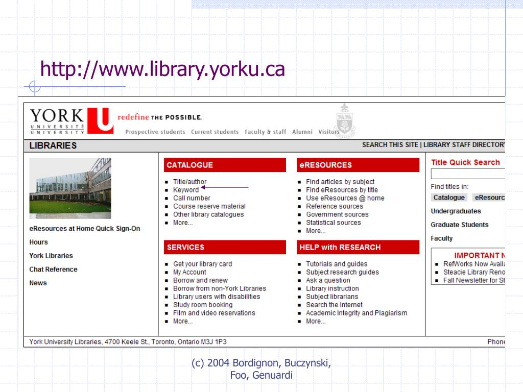 http://www.library.yorku.ca