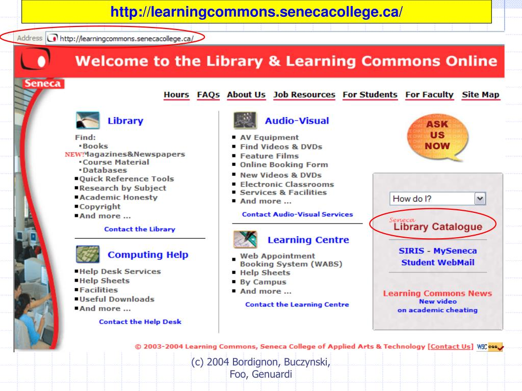 http://learningcommons.senecacollege.ca/