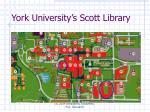 york university s scott library