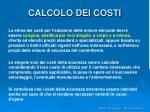 calcolo dei costi23