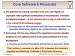 core software physicists