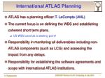 international atlas planning