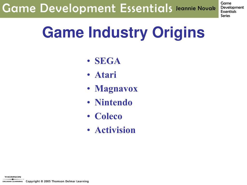 Game Industry Origins