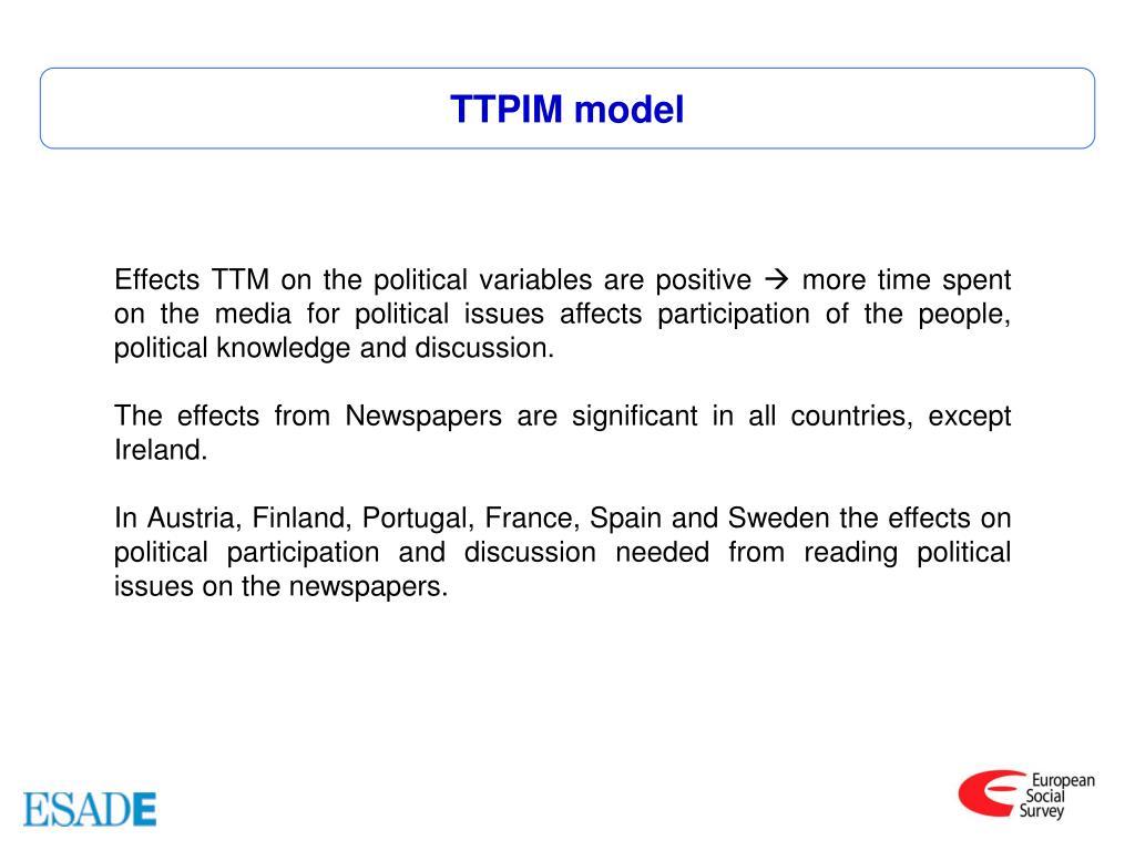 TTPIM model
