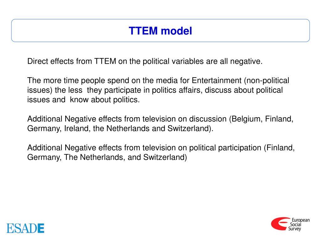TTEM model