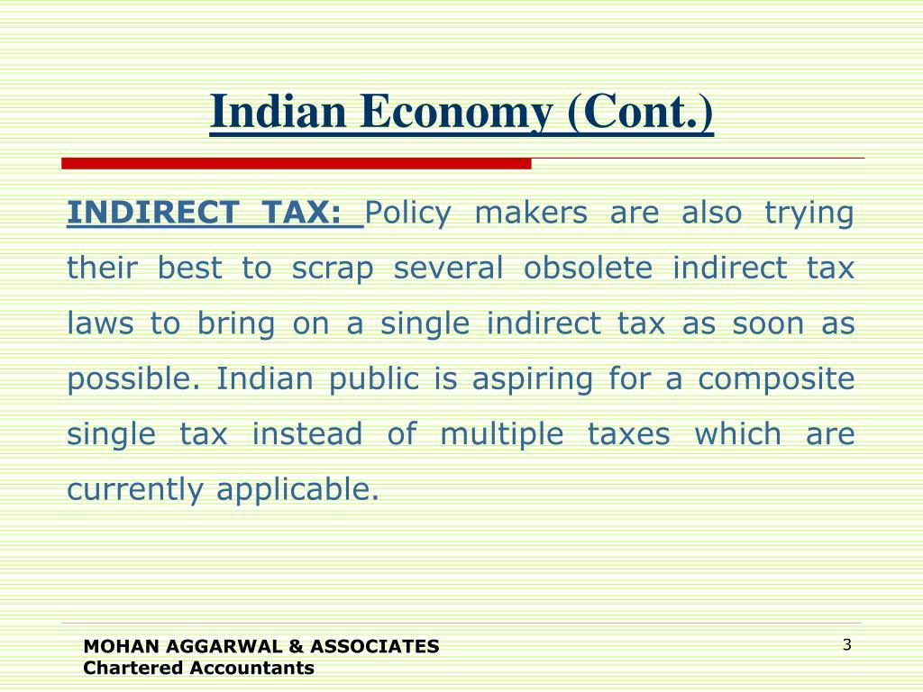 Indian Economy (Cont.)