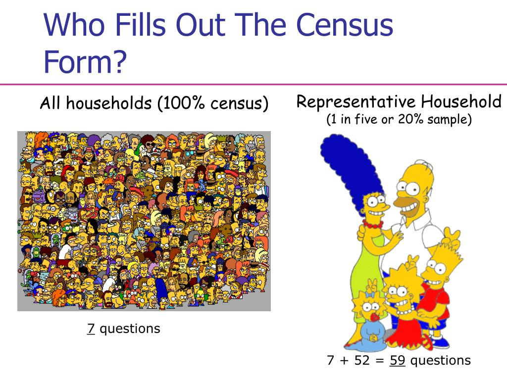 Who Fills Out The Census Form?