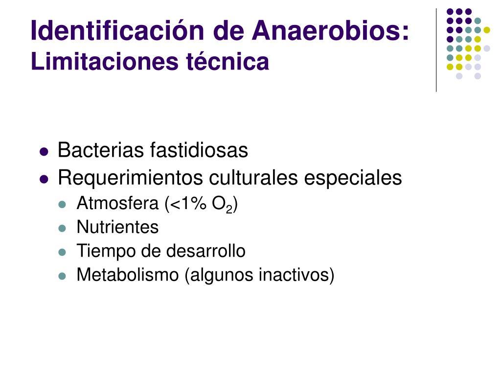 Identificación de Anaerobios: