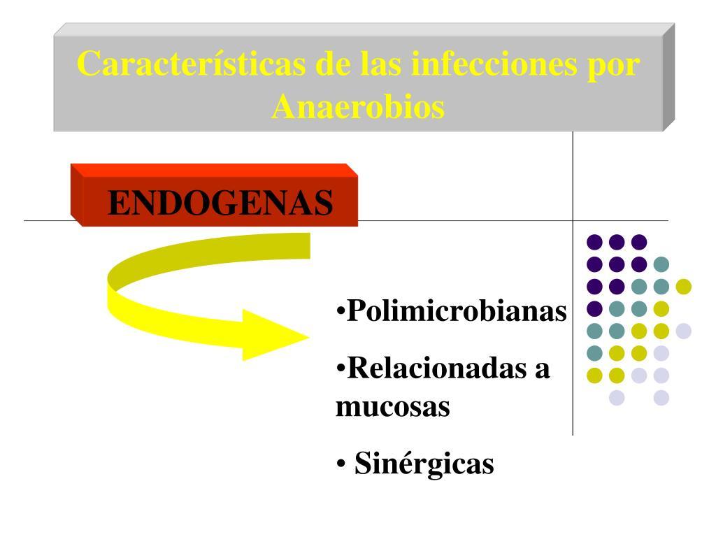 Características de las infecciones por Anaerobios