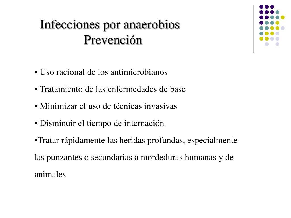 Infecciones por anaerobios