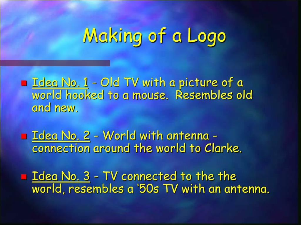 Making of a Logo