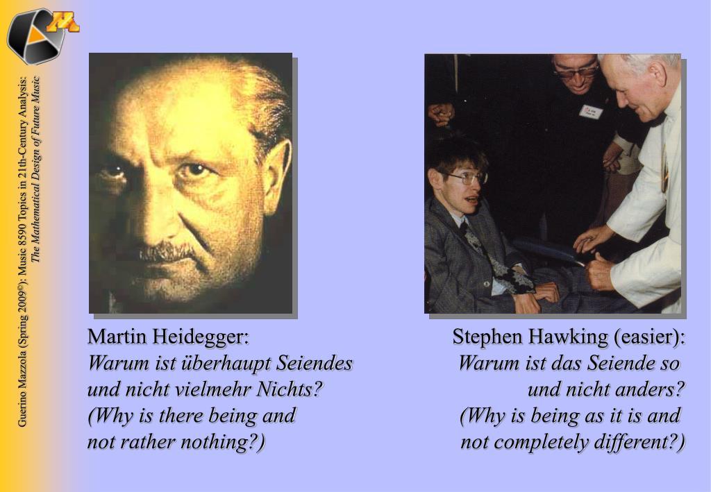 Martin Heidegger: