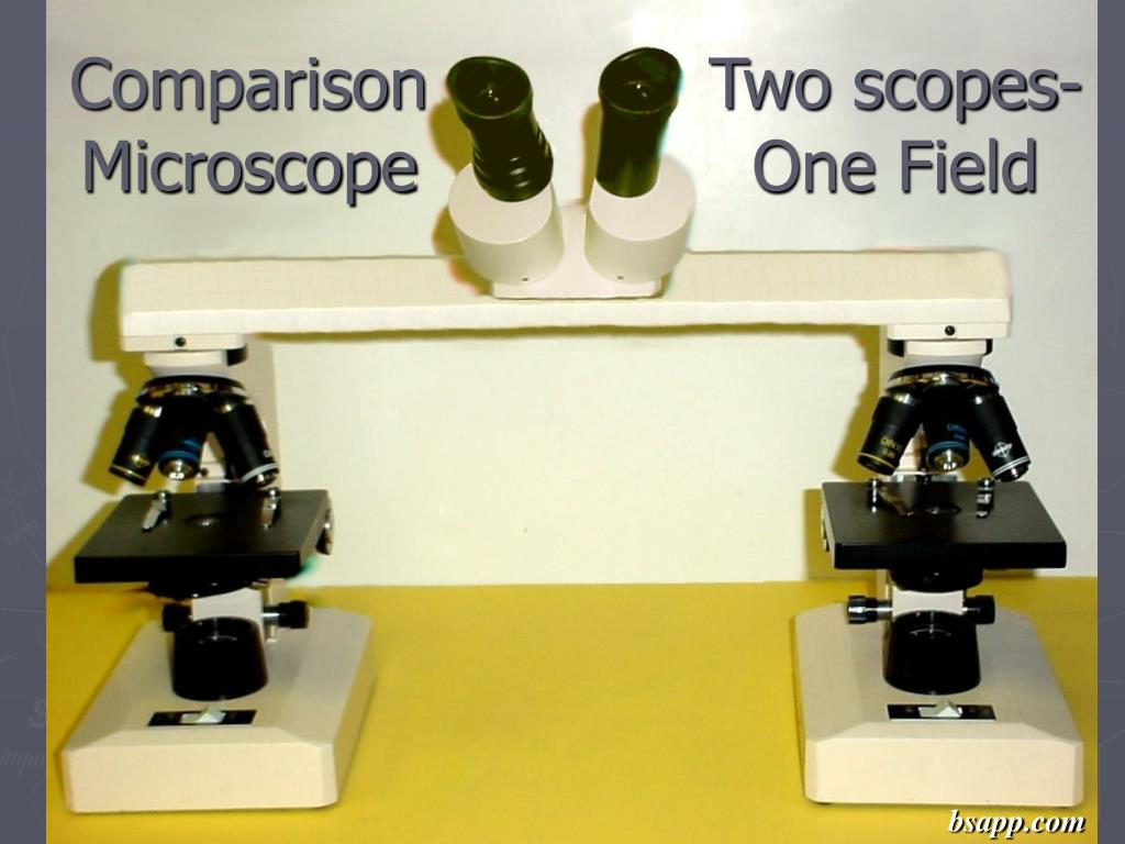Two scopes-
