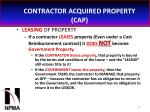 contractor acquired property cap26