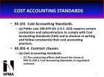cost accounting standards42