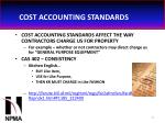 cost accounting standards43