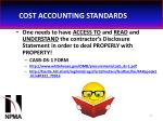 cost accounting standards44