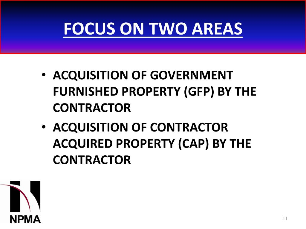 FOCUS ON TWO AREAS